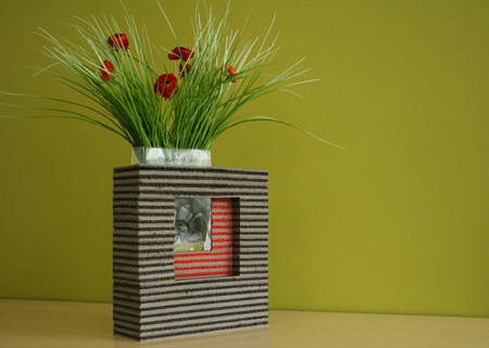Eco-vase by Lyall Design