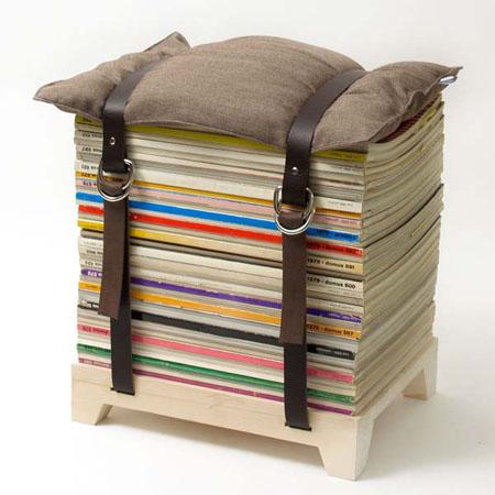 Magazine Seat