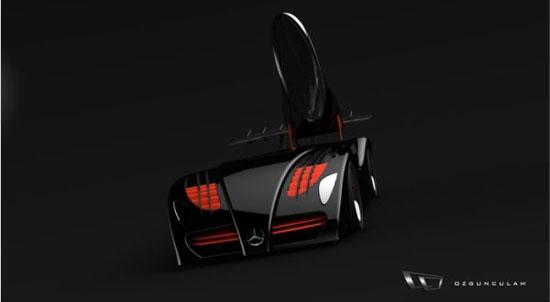Mercedes-Benz LeMans Electric Race Car Concept