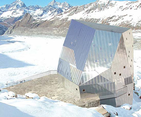 Monte Rosa Mountain Hut