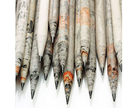 Newspaper Pencil