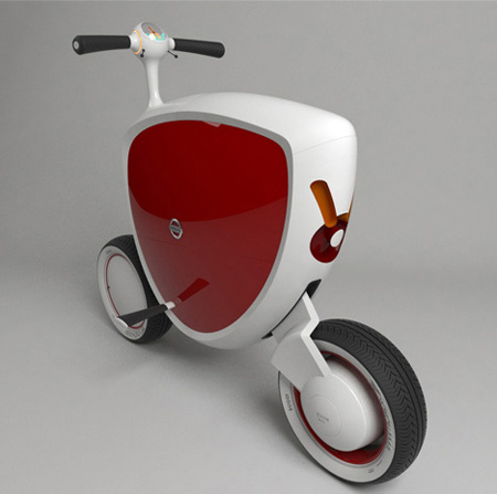 nissan mori scooter concept