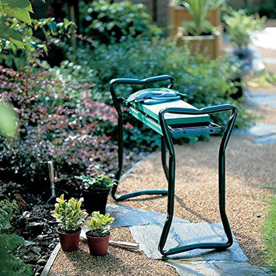 Ohuhu Garden Kneeler and Seat with Pouch