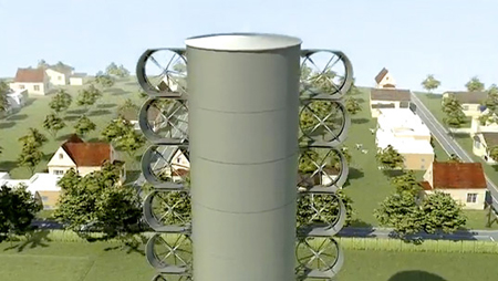 Optiwind Compact Wind Turbine
