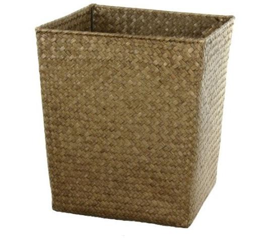Oriental Furniture Hand Woven Natural Storage Bin Set