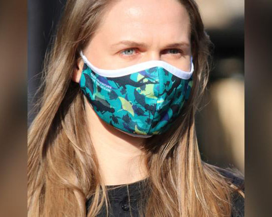 PADI x RASHR Face Mask Is Made from Recycled Polyester