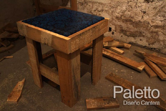 Paletto Stool