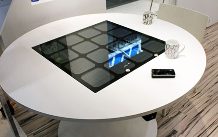 Panasonic Solar Powered Charging Table Prototype