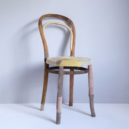 Patched Chair