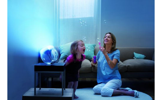 Philips 69143/60/48 LivingColors Generation 2 Translucent Changing LED Lamp with Remote