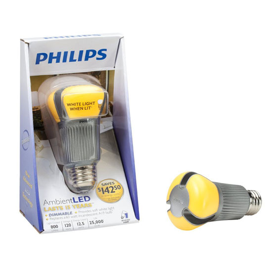 Philips Dimmable Ambient LED Light Bulb