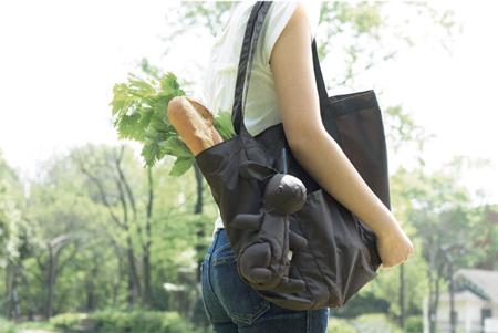 Picnica Bunny reusable tote bag