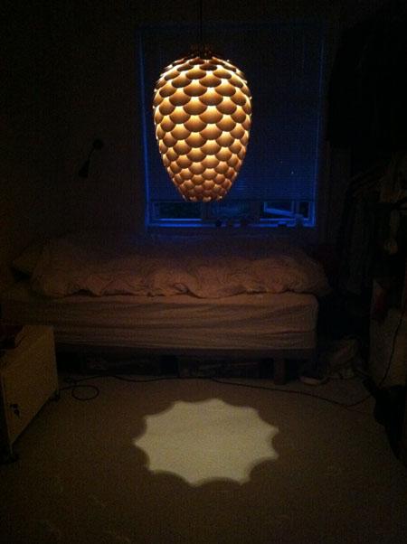 Pinecone Lamp