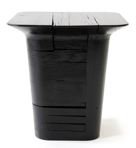 Pitch Black Stool