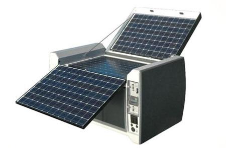 powercube solar generator