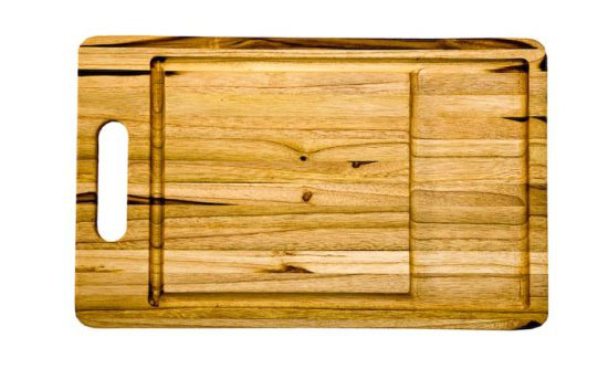 Proteak Rectangle Cutting Board with Large Juice Well