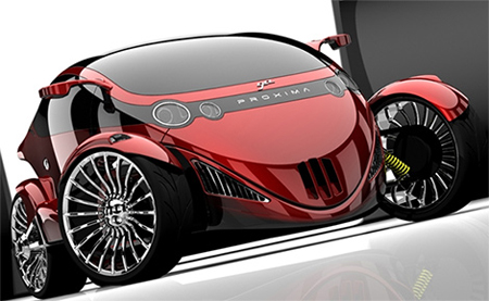 proxima the car bike hybrid concept
