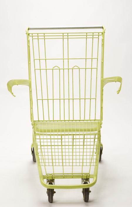 fu push cart chair