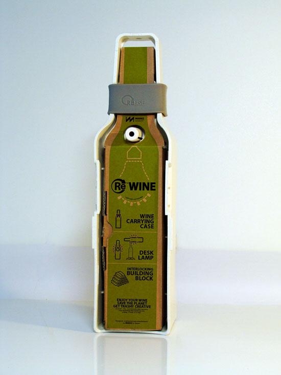 Re-Wine Wine Bottle Lamp