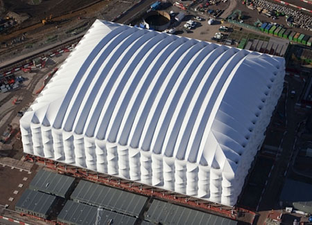 Recyclable Basketball Stadium in London