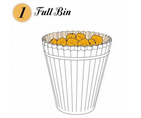 Recyclable Paper Waste Bin