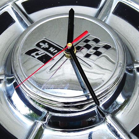 Recycled Car Parts Clock