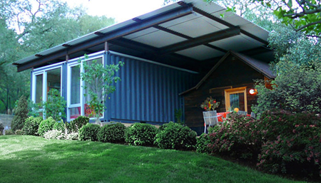 Recycled Container House