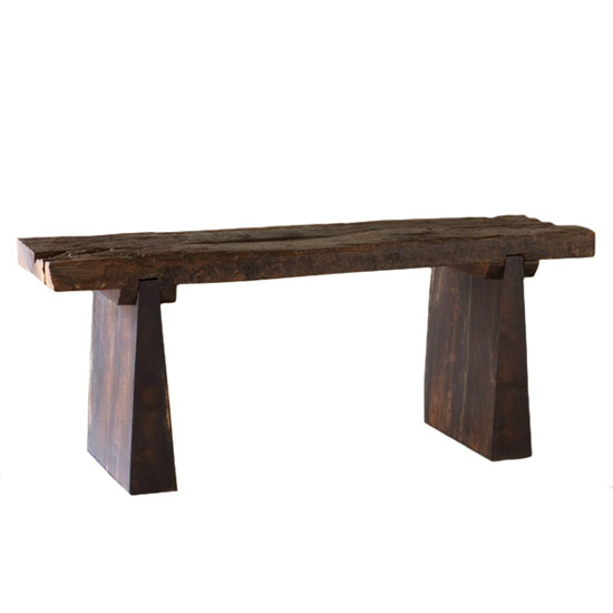 Recycled Railroad Tie Bench