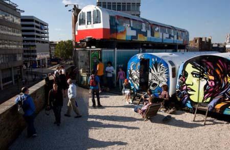 Recycled Subway Car