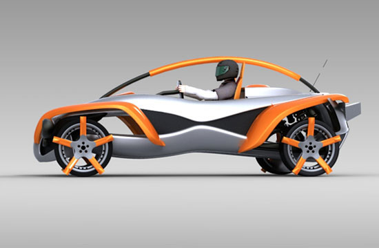 Renault Sand Jumper Concept Car by Luis Pedro Fonseca