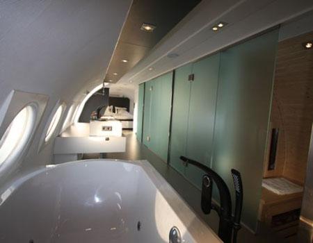 Repurposed Airplane Hotel