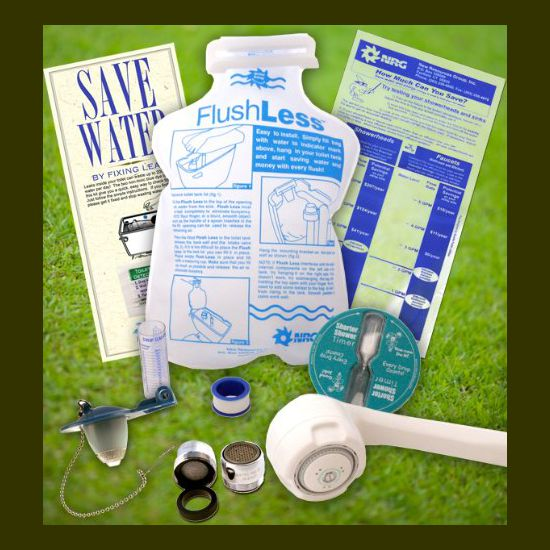 RGideas Premium Bathroom Water Saving Eco-Kit