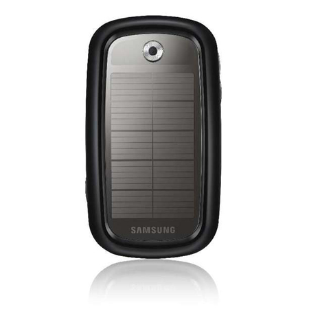 Samsung Earth Blue Solar Powered Phone