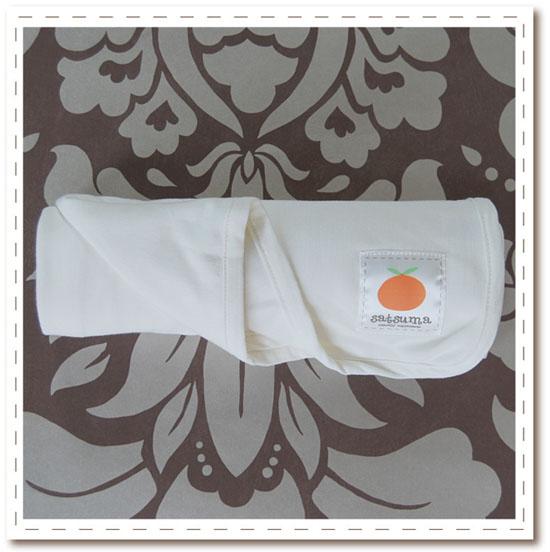 Satsuma Designs Jersey Swaddling Blanket