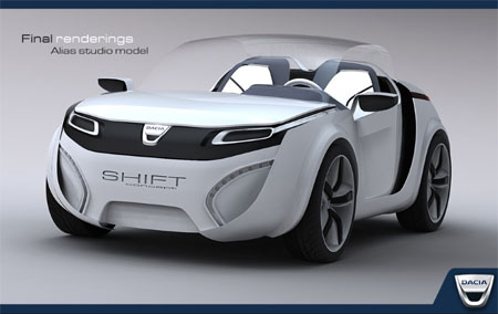 Shift Car Concept