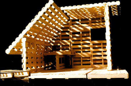 Shipping Pallet House