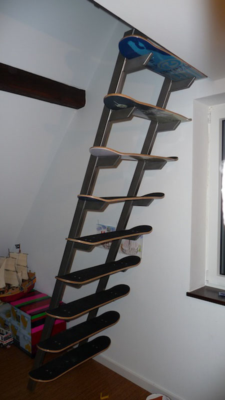 Skateboard Staircase