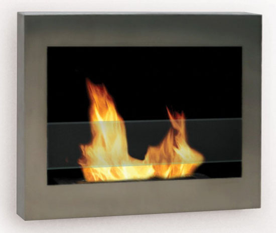 SoHo Wall Mount Ethanol Fireplace