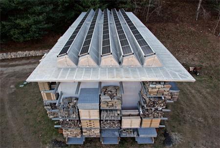 Solar Storage Barn