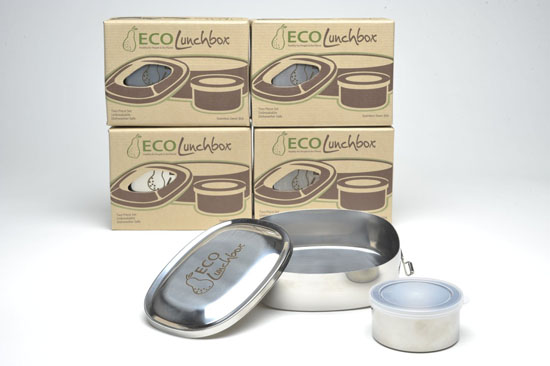 Stainless Steel Bento Box Food Container By ECOlunchbox