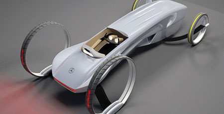 Sustainable Mercedes Roadster Concept
