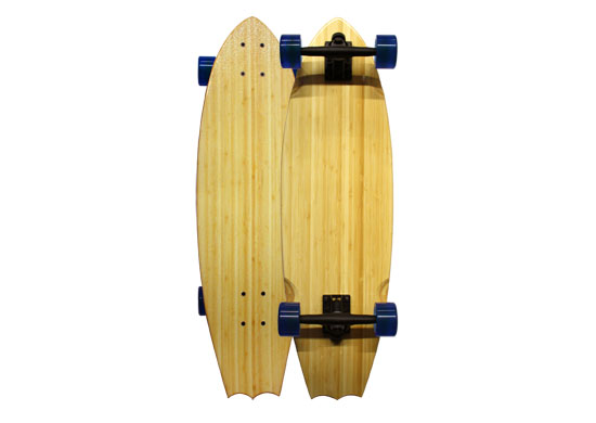 Sustainable Skateboards and Longboards from BambooSK8