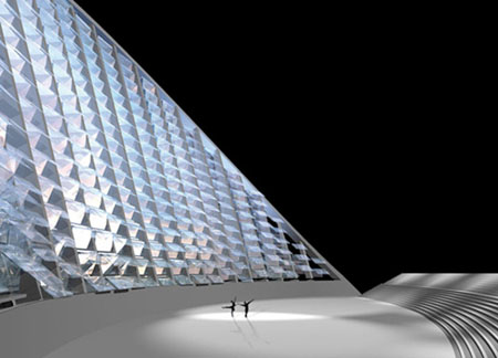 teatro del agua solar desalination plant