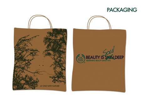 The Body Shop Eco-packaging
