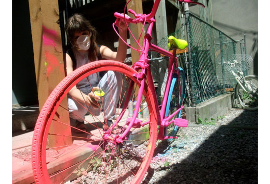 The Good Bike Project A Sustainable Street Art
