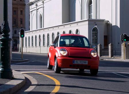 th!nk electric city car