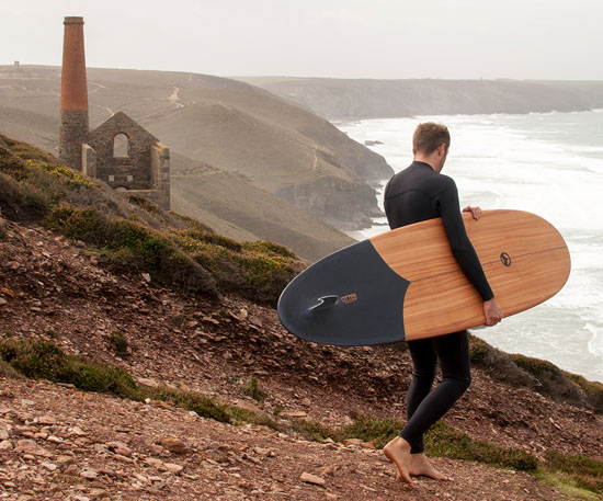 Tide X Otter Sustainable Surfboard by Martin Spurway