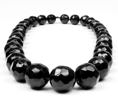 Tierra Faceted Horn Necklace