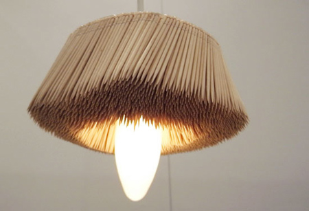 Toothpick Lamp