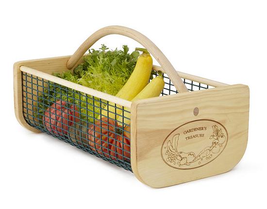 Traditional Gardener's Harvest Basket